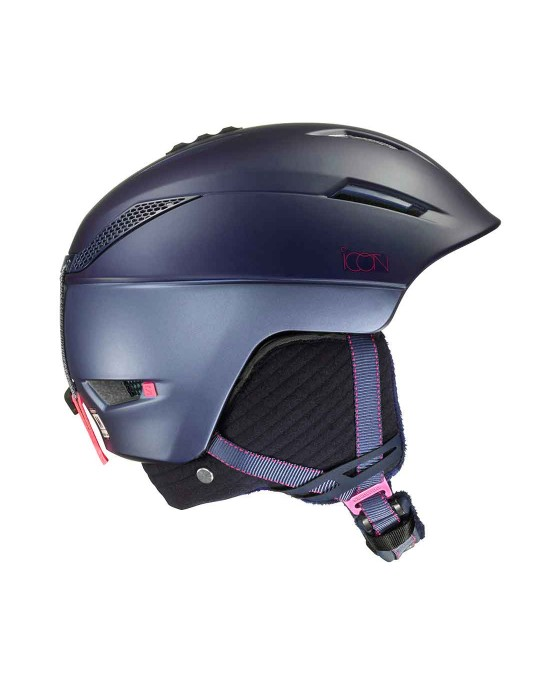 CASCO ESQUI CHICA SALOMON 391239 ICON2 391239 ICON2 AIR NAVY